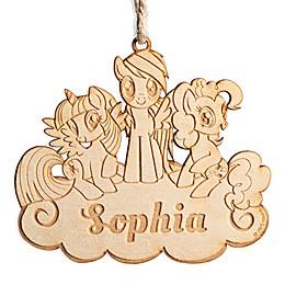 My Little Pony Wood Ornament