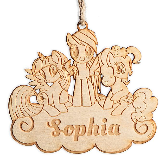 Alternate image 1 for My Little Pony Wood Ornament