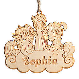 My Little Pony Wood Ornament