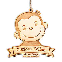 Curious George Wood Ornament