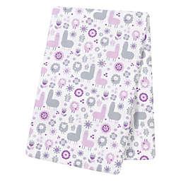 Trend Lab® Llama Friends Deluxe Flannel Swaddle Blanket