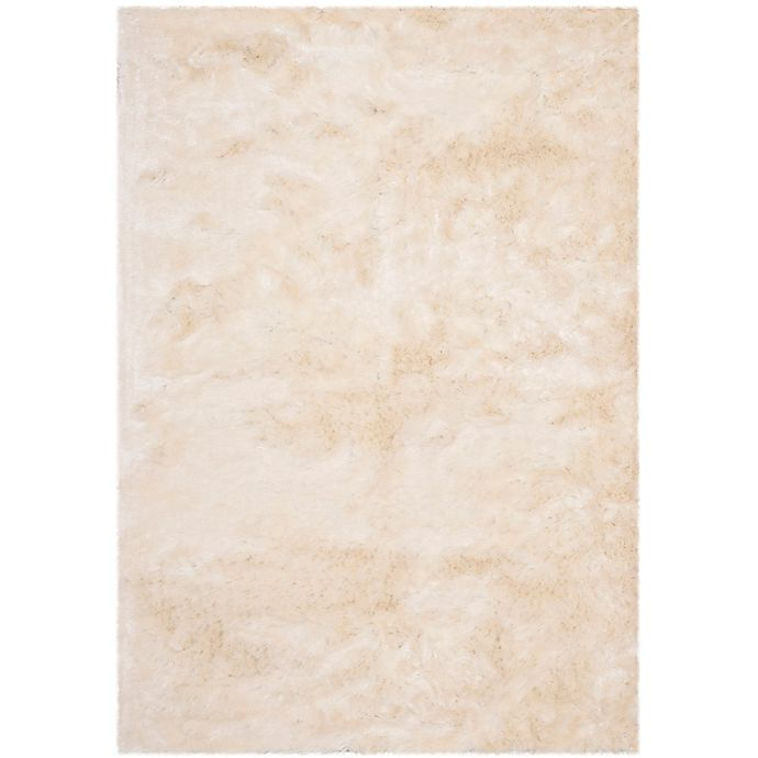 Alternate image 1 for Safavieh Shag 5-Foot x 8-Foot Rug in Ivory