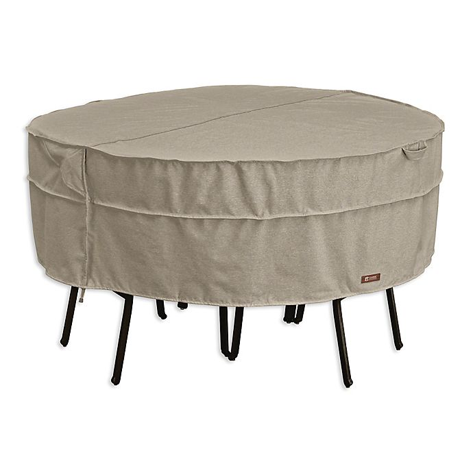 Montlake Large Round Patio Table And