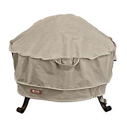 Classic Accessories® Montlake 30-Inch Round Firepit Cover in Grey