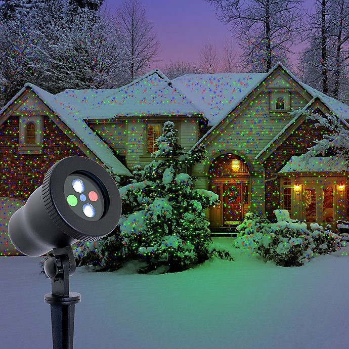 Night Stars Premium Series Red, Green and Blue Laser Light with 16-Color LED Flood Light | Bed ...