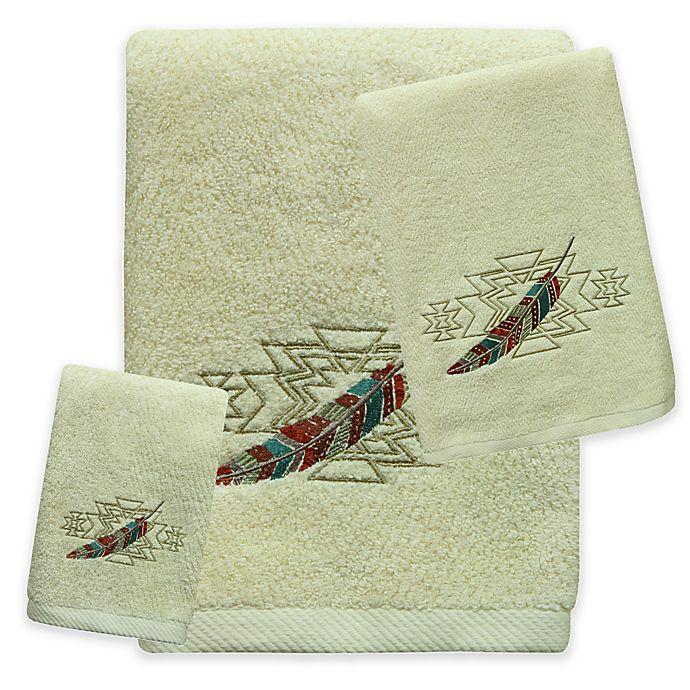 Alternate image 1 for Bacova Southwest Boots Bath Towel in Beige