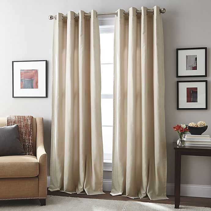 Alternate image 1 for London Grommet Top Window Curtain Panel