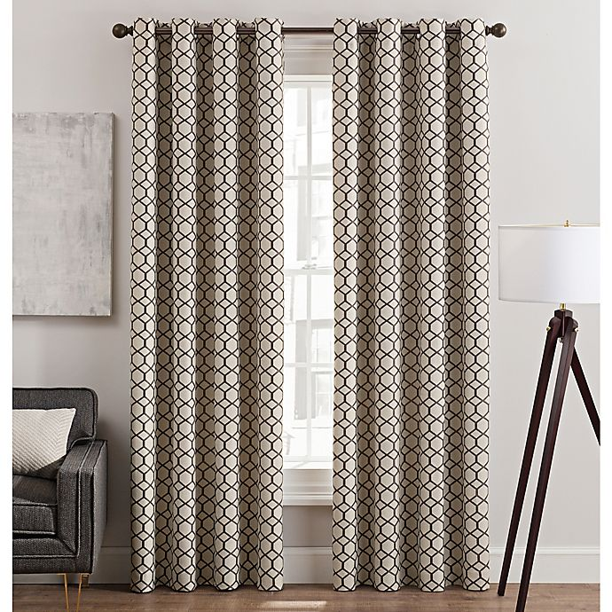 Alternate image 1 for Rankin Grommet Top Window Curtain Panel