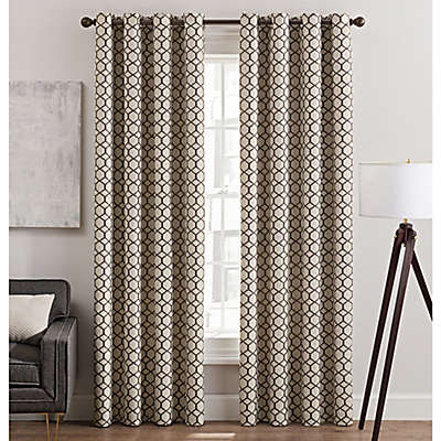 Rankin Grommet Top Window Curtain Panel