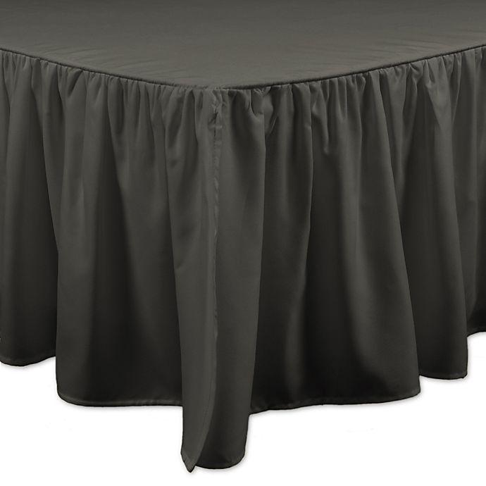 Alternate image 1 for Brielle Honeycomb Bed Skirt