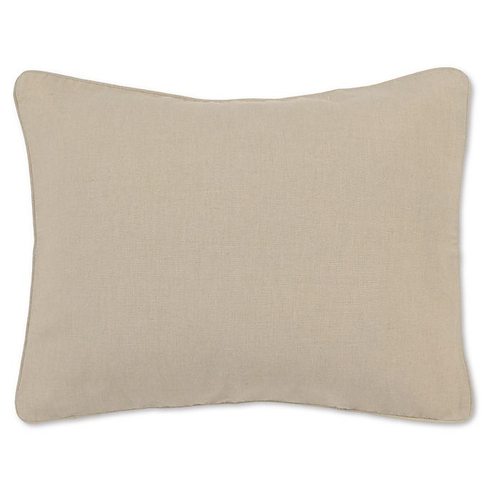 Alternate image 1 for Villa Home Clarin Standard Pillow Sham in Natural