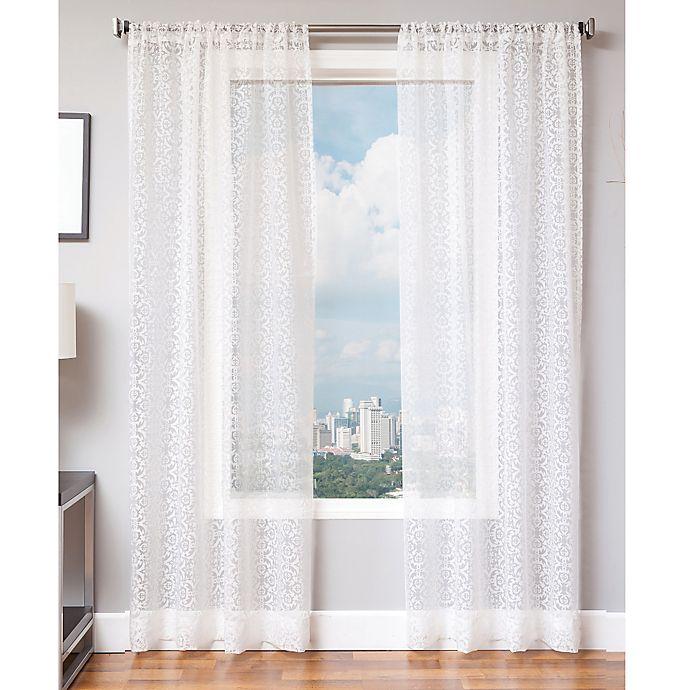 Alternate image 1 for Medallion 84-Inch Window Panel in White