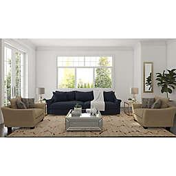 Deep Navy Living Room