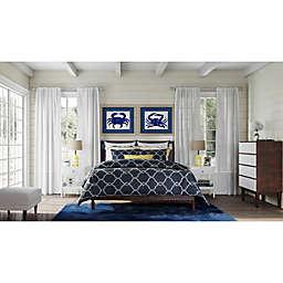 Blue Crab Coastal Bedroom