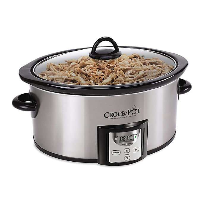 Alternate image 1 for Crock-Pot® 4 qt. Count Down Slow Cooker