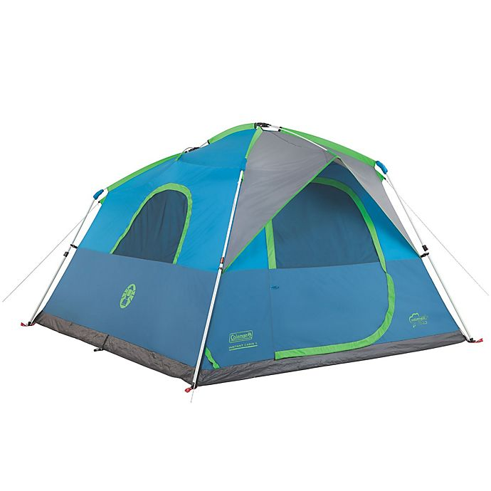 f405dfc635 Coleman® Instant Cabin 6-Person Double-Hub Camping Tent