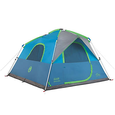 Coleman® Instant Cabin 6-Person Double-Hub Camping Tent