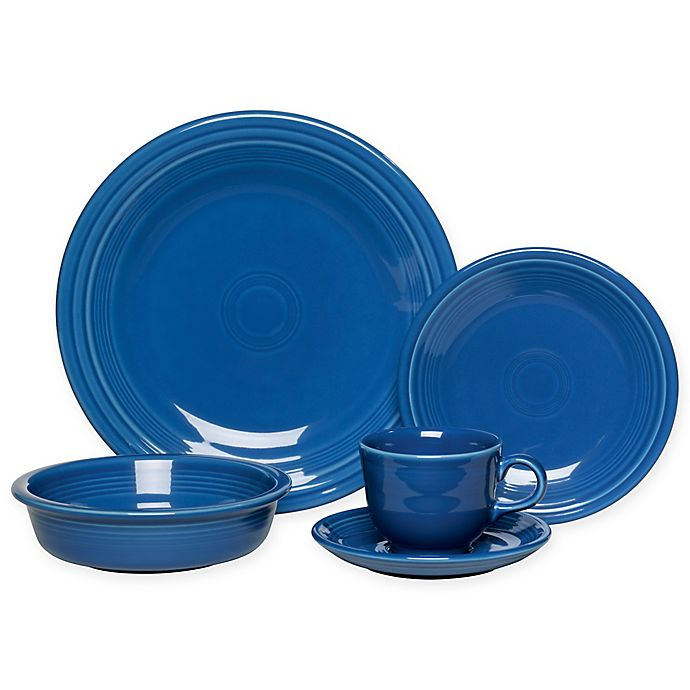 Alternate image 1 for Fiesta® 5-Piece Place Setting in Lapis