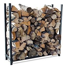 UniFlame® 4-Foot Premium Log Rack in Black