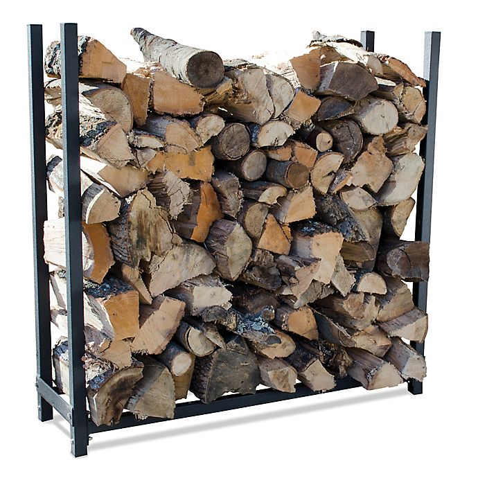 Alternate image 1 for UniFlame® 4-Foot Premium Log Rack in Black