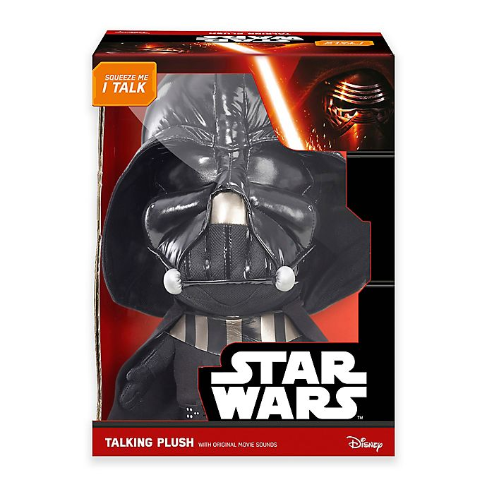 Alternate image 1 for Star Wars™ Darth Vader Deluxe Talking Plush Toy