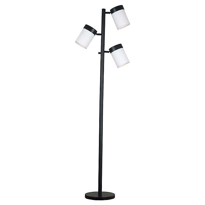 Alternate image 1 for Kenroy Home Roarke 3-Light Adjustable Floor Lamp