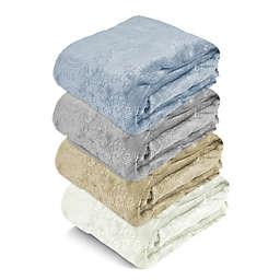 Paisley Embossed Royal Plush Blanket