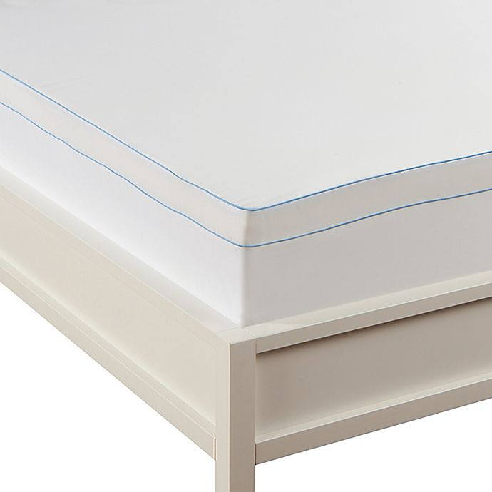 Alternate image 1 for Sealy® Microfiber Mattress Topper Cover