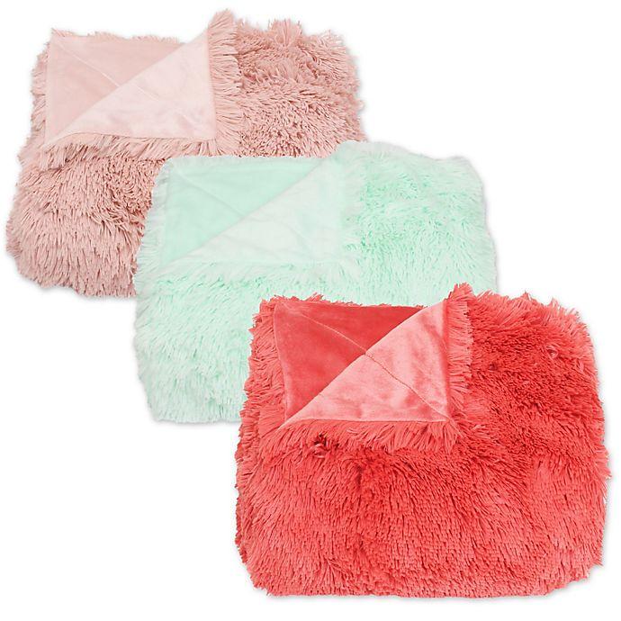 Alternate image 1 for Thro Chubby Faux Fur Throw Blanket