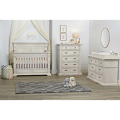 Kingsley Venetian Nursery Furniture Collection in Antique White