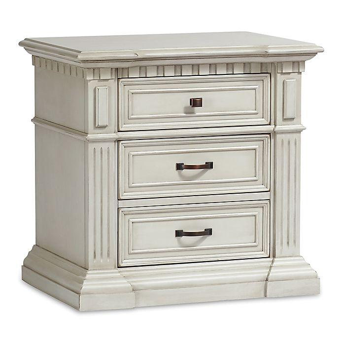 Alternate image 1 for Kingsley Venetian Nightstand in Antique White