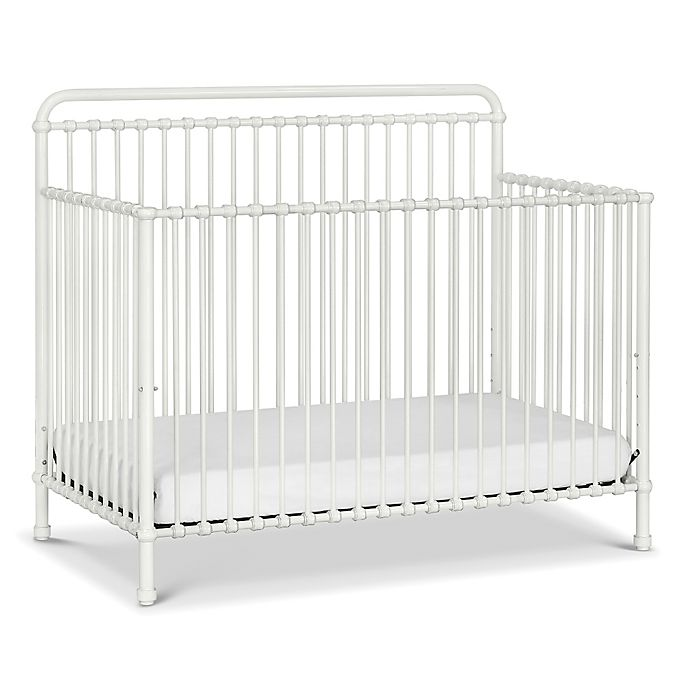 Alternate image 1 for Million Dollar Baby Classic  Winston 4-in-1 Convertible Crib in Washed White