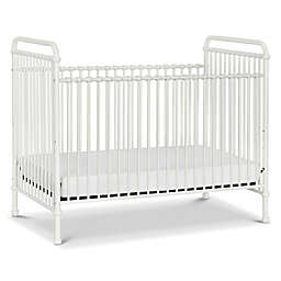 Million Dollar Baby Classic Abigail 3-in-1 Convertible Crib in Washed White