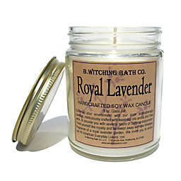 B. Witching Bath Co. 9 oz. Royal Lavender Candle