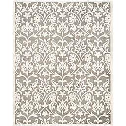 Safavieh Amherst Flora Indoor/Outdoor 9-Foot x 12-Foot Area Rug in Dark Grey