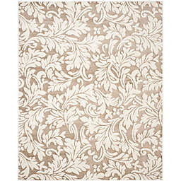 Safavieh Amherst Vinca Indoor/Outdoor 8-Foot x 10-Foot Area Rug in Wheat