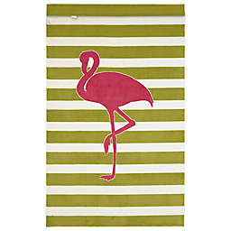 Mohawk Home® Aurora Fancy Flamingo 5-Foot x 8-Foot Area Rug in Hot Pink