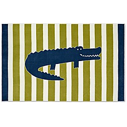 Mohawk Home® Aurora Friendly Alligator 5-Foot x 8-Foot Multicolor Area Rug