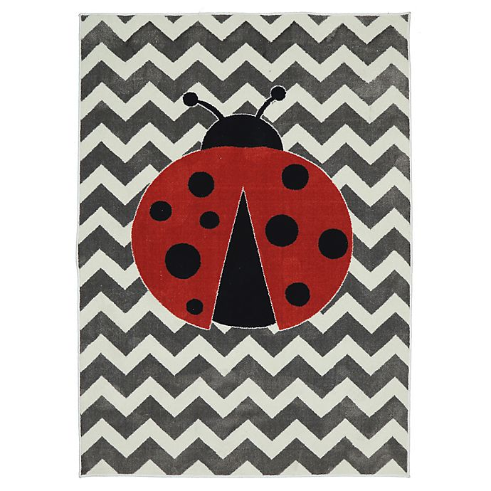 Alternate image 1 for Mohawk Home® Aurora Little Lady Bug 5-Foot x 8-Foot Multicolor Area Rug