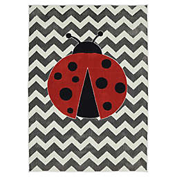 Mohawk Home® Aurora Little Lady Bug 5-Foot x 8-Foot Multicolor Area Rug