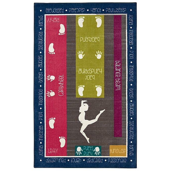 Alternate image 1 for Mohawk Home® Aurora Gymnastics Fun 5-Foot x 8-Foot Multicolor Area Rug