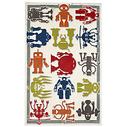 Mohawk Home® Aurora Robot Army 5-Foot x 8-Foot Multicolor Area Rug