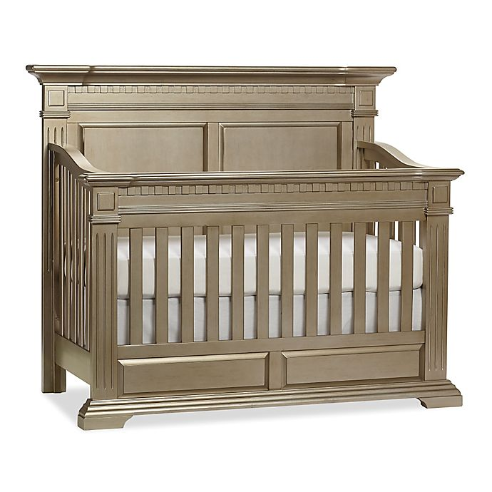 Alternate image 1 for Kingsley Venetian 4-in-1 Convertible Crib in Champagne Gold