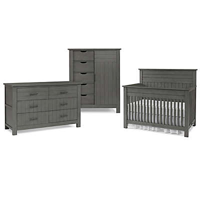 Bel Amore Channing Nursery Furniture Collection in Grey