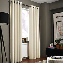 White Curtain Panels Hanging Style Grommet Bed Bath