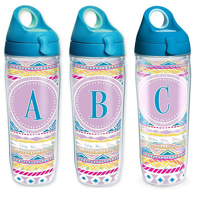 75b3f20f551 Tervis® Aztec Wrap 24 oz. Monogram Letter Water Bottle with Lid ...