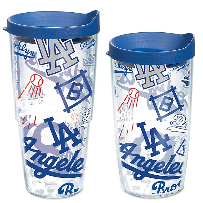 Alternate image 1 for Tervis® MLB Los Angeles Dodgers All Over Wrap Tumbler with Lid