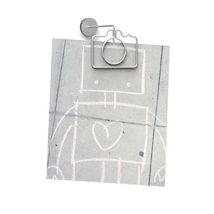 Alternate image 1 for Umbra® Camera Clip-It Photo Holders in Nickel (Set of 9)