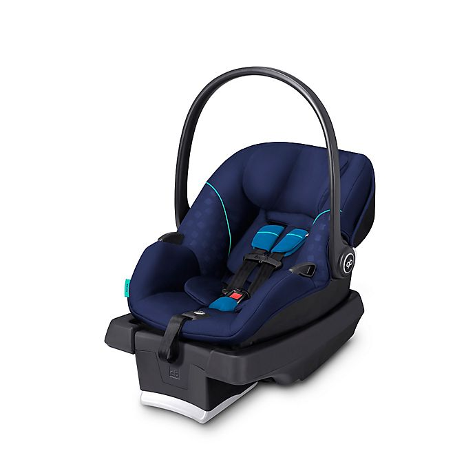 GB Ansana Infant Car Seat In Sea Port Blue With Load Leg Base