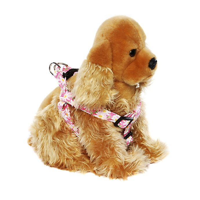 Alternate image 1 for Donna Devlin Designs® Step-in Garden Party Small Pet Harness